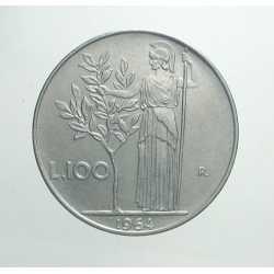 100 Lire 1964