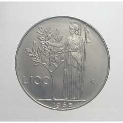 100 Lire 1968