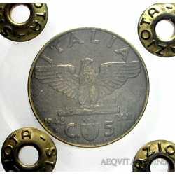Vitt. Eman. III - 5 Cent 1942