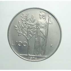 100 Lire 1974