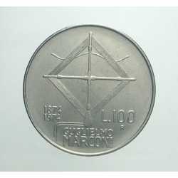 100 Lire 1974 - Marconi