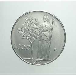 100 Lire 1977