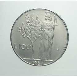 100 Lire 1980