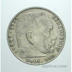 Germany - 5 ReichsMark 1935 D