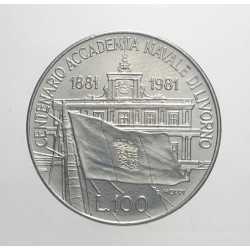 100 Lire 1981 - Accademia Navale