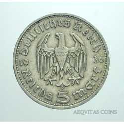 Germany - 5 ReichsMark 1936 D
