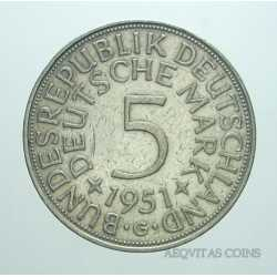 Germany - 5 Mark 1951 G