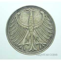Germany - 5 Mark 1951 J