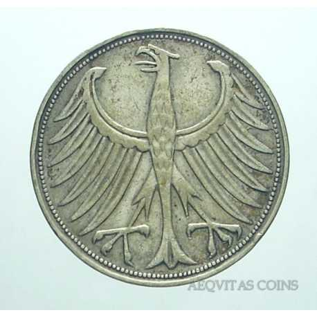 Germany - 5 Mark 1951 J