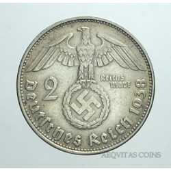 Germany - 2 ReichsMark 1938 B