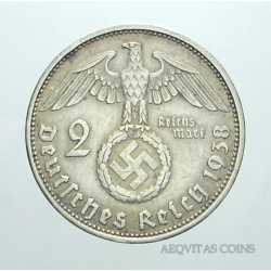 Germany - 2 ReichsMark 1938 A