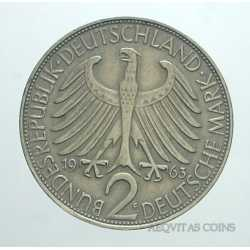 Germany - 2 Mark 1963 F