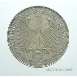 Germany - 2 Mark 1960 D