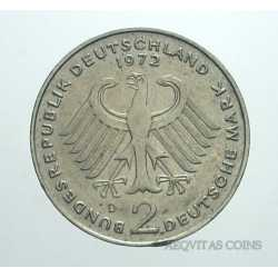 Germany - 2 Mark 1972 D