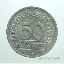 Germany - 50 Pfennig 1921 F