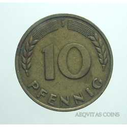 Germany - 10 Pfennig 1950 J