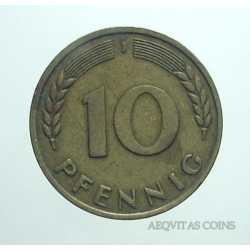 Germany - 10 Pfennig 1950 J