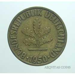 Germany - 10 Pfennig 1950 D