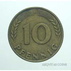 Germany - 10 Pfennig 1950 F