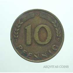 Germany - 10 Pfennig 1950 G