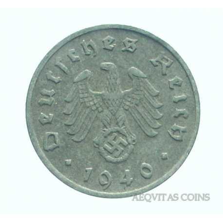 Germany - 10 Reichspfennig 1940 F