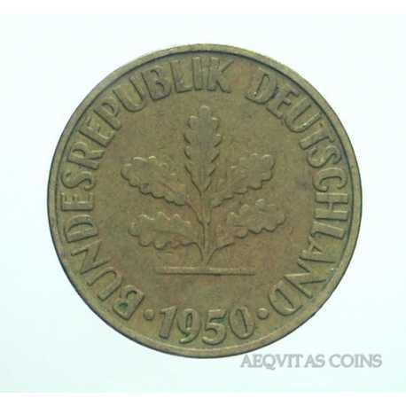 Germany - 10 Pfennig 1950 G