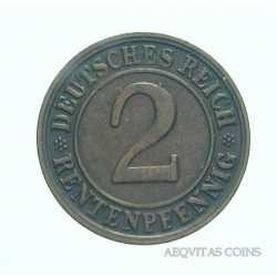 Germany - 2 Reichspfennig 1923 D