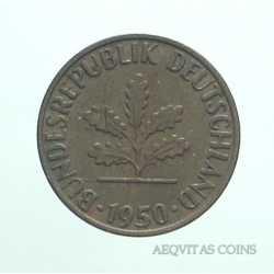 Germany - 1 Pfennig 1950 F