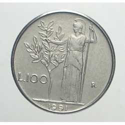 100 Lire 1991 - 99 chiusi