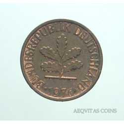 Germany - 1 Pfennig 1976 D