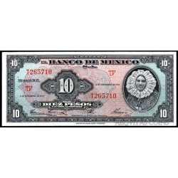 Mexico - 10 Pesos 1961