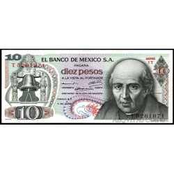 Mexico - 10 Pesos 1969