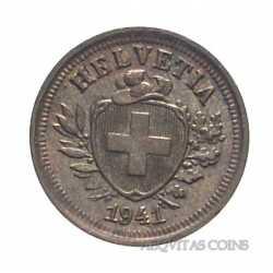 Switzerland - 1 Rappen 1941