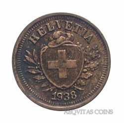 Switzerland - 1 Rappen 1938