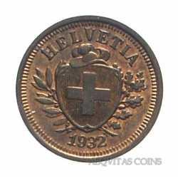 Switzerland - 1 Rappen 1932