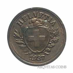 Switzerland - 1 Rappen 1937