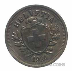 Switzerland - 1 Rappen 1924
