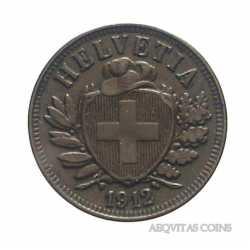 Switzerland - 2 Rappen 1912