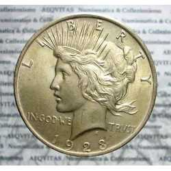 USA - Peace Dollar 1923