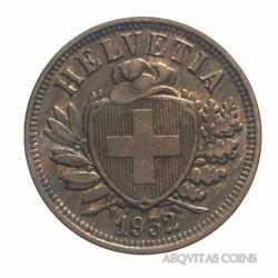 Switzerland - 2 Rappen 1932