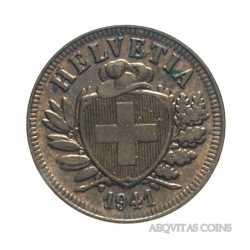 Switzerland - 2 Rappen 1941