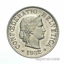 Switzerland - 5 Rappen 1932
