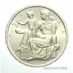 Switzerland - 5 Francs 1948