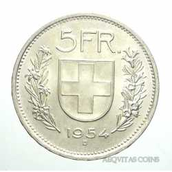 Switzerland - 5 Francs 1954