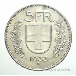 Switzerland - 5 Francs 1933