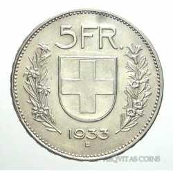 Switzerland - 5 Francs 1933