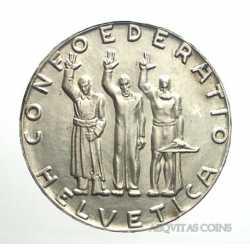 Switzerland - 5 Francs 1941