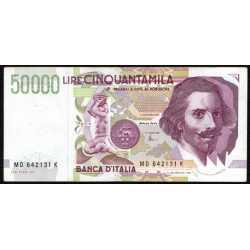 50.000 Lire Bernini 1997