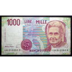 1.000 Lire Montessori