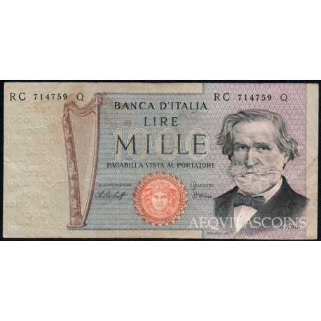 1.000 Lire G. Verdi II 1977